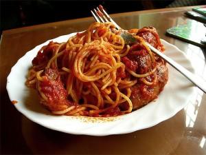 salsicce con pasta