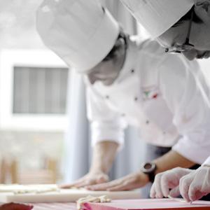 A scuola da un grande chef