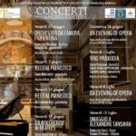 I concerti degli Angeli Custodi - programma 2016