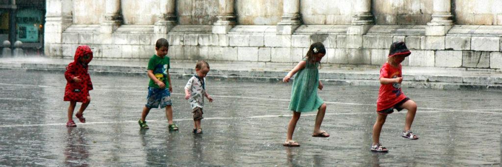 Bambini in San Michele
