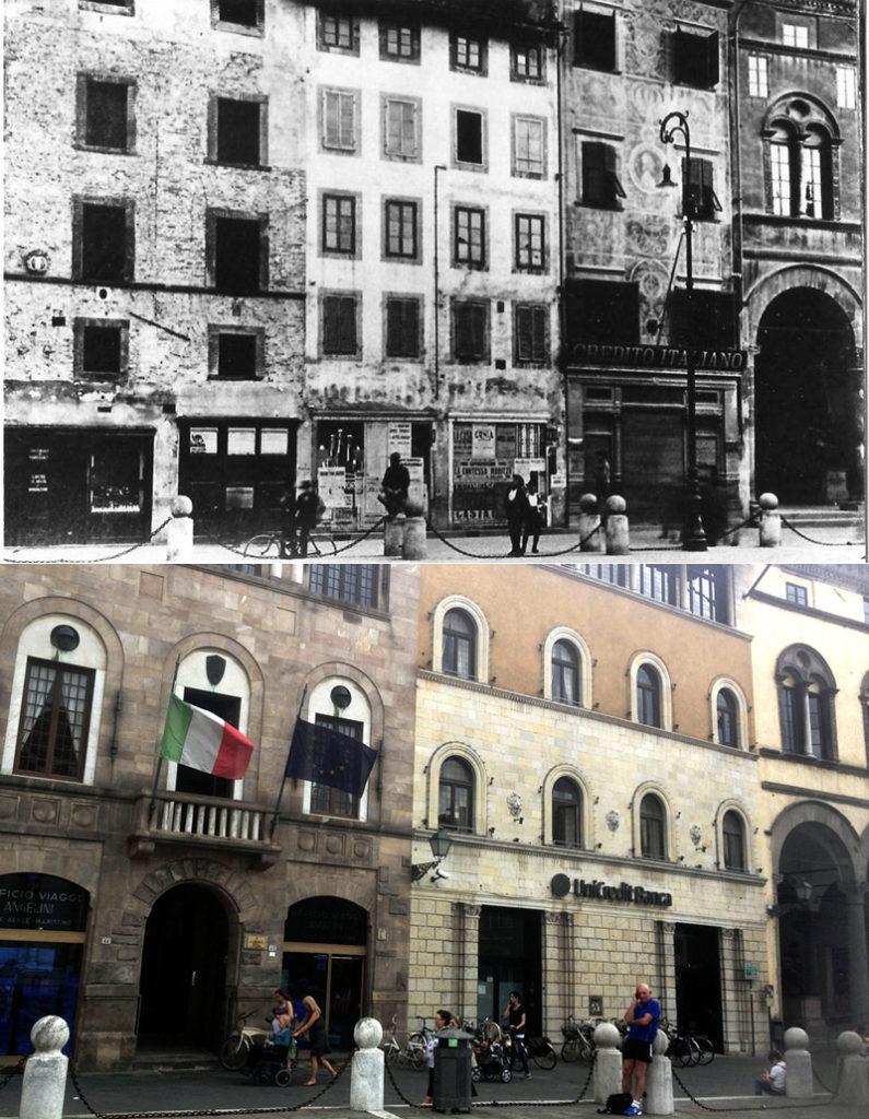 Lucca ieri e oggi