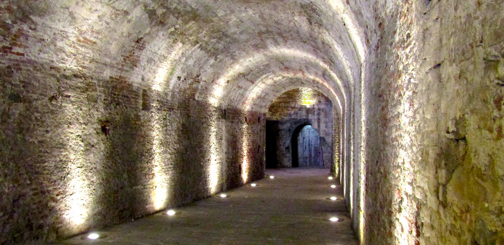 Sotterranei delle Mura di Lucca