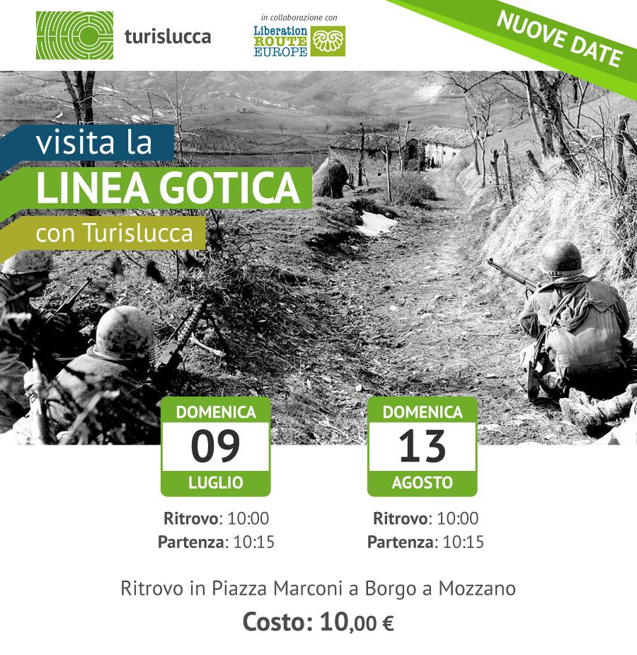 Visita la Linea Gotica di Borgo a Mozzano