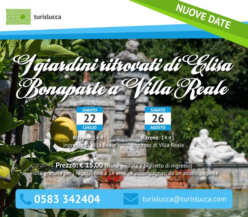 I giardini ritrovati di Elisa Bonaparte a Villa Reale