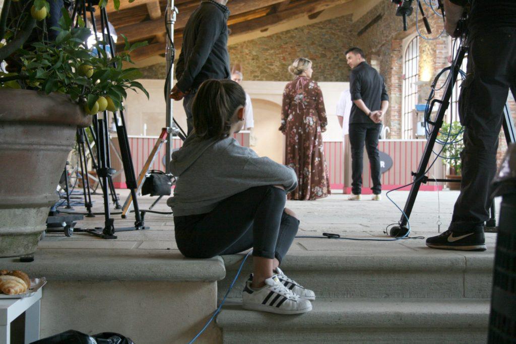 Backstage di Cake Star con Damiano Carrara 3