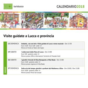Calendario maggio 2018