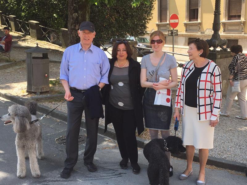 Anna col 9° Presidente della Repubblica Federale Tedesca Horst Köhler
