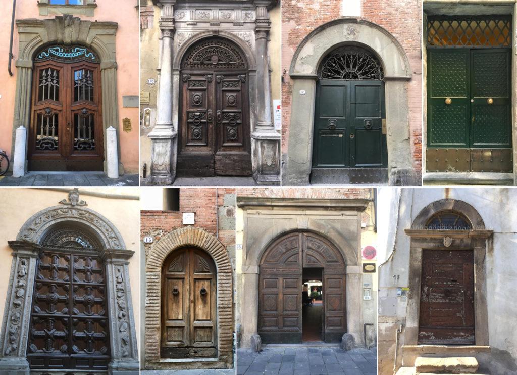 Porte e portoni a Lucca