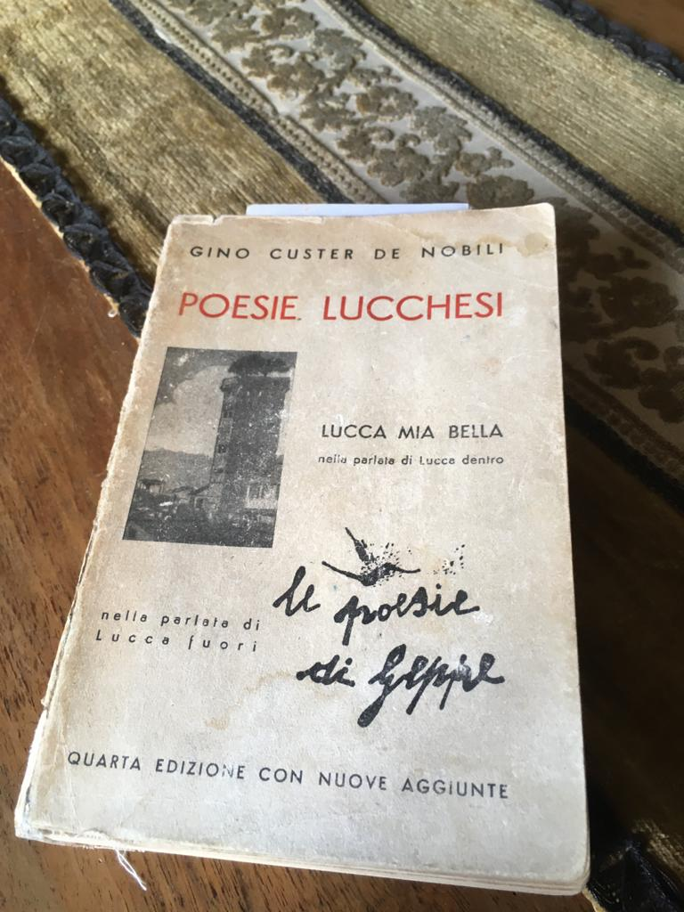 """copertina del libro """"Poesie di Geppe"""""""