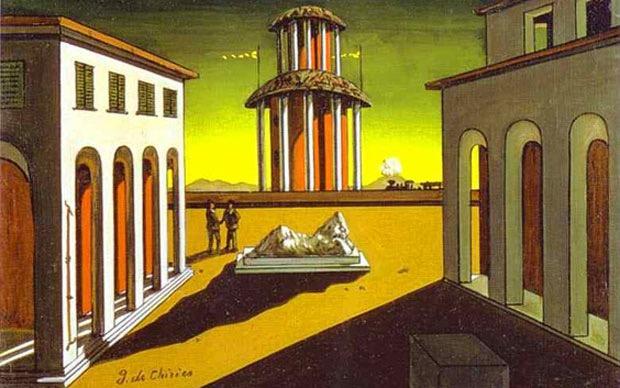 Dipinto di De Chirico