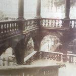 Foto della scalinata di Palazzo Pfanner