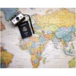 planisfero passaporto macchina fotografica